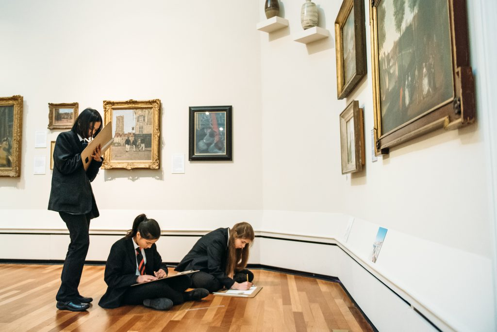 ...inspires a Year 9 visit to York Art Gallery